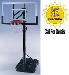 """SO Lifetime 72005 Competition Portable 54"""" Hoop Goal Basketball System"""