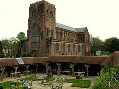 Shrewesbury Abbey, Shropshire, England- Built in 1083 as a Benedictine Monastery.