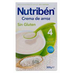 355107 Nutriben Crema de Arroz Sin Gluten - 300 gr.