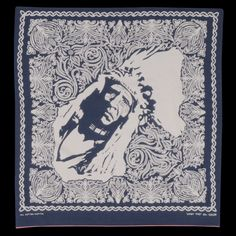This is art- If you love bandanas go to Cotton Sheep SF- UNIONMADE - Kapital - Selvedge Chief Print Bandana in Black and Navy Vintage Bandana, Vintage Men, Bandana Design, Vash, Inspirational Artwork, Bandana Print, Mountain Man, Denim Outfit, Black And Navy