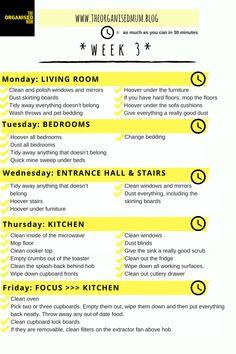 The Organised Mum Method Week 3 FREE PRINTABLE – The Organised Mum