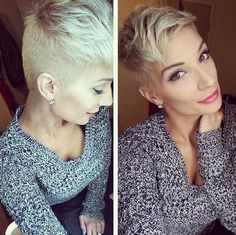 Short Blonde Undercut Ideen