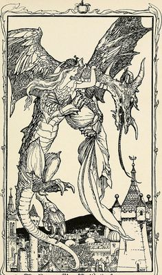 Henry Justice Ford - The violet fairy book, edited by Andrew Lang, 1906 (illustration Fairy, Fine Art, Poster Prints, Fantasy Art, Image, Illustration Art, Book Illustration, Fairy Book, Ink Illustrations