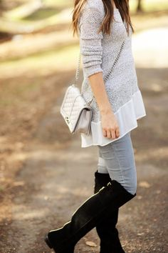 HOW TO STYLE THE OVER THE KNEE BOOTS TREND