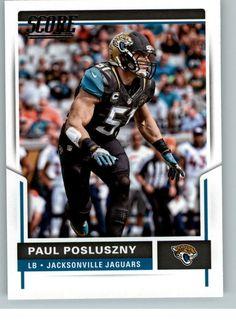 2017 Score Football 63 Paul Posluszny - Jacksonville Jaguars | Sports Mem, Cards & Fan Shop, Sports Trading Cards, Football Cards | eBay!