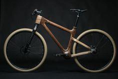 Madera, el material del futuro para las bicicletas