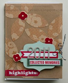 use a card as the cover of a mini journal, including a clear card! Mini Scrapbook Albums, Scrapbook Cards, Scrapbook Journal, Book And Frame, Paper Bag Album, Altered Book Art, Mini Albums Scrap, Album Book, Scrapbook Designs