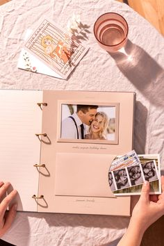 A modern take on the classic scrapbook album, featuring engaging prompts, convenient pockets, and interactive add-ons — for scrapbooking made simple. Couple Scrapbook, Scrapbook Cover, Scrapbook Journal, Photo Album Scrapbooking, Scrapbook Albums, Polaroid Photo Album, Diy Photo Album, Polaroids, Birthday Diy