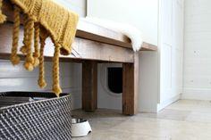 8 Purr-fect DIY Ways to Hide the Litter Box