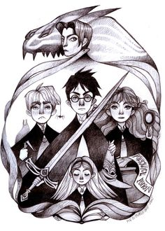 Harry Potter and the Chamber of Secrets by PigandPepperArts
