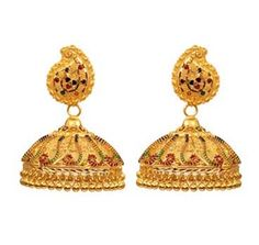 Kerala Jewellers-Calcutti jhumkas