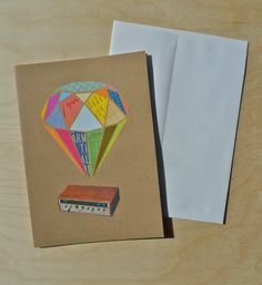 Receiver 5x7 Note Card by BillZindel on Etsy