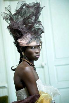 """continentcreative:  In Photos: """"Signares"""" byFabrice Monteiro."""
