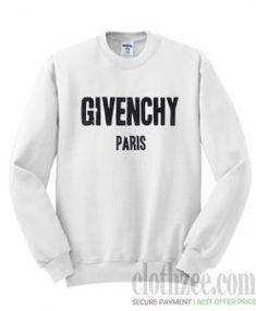 3c5f1204 Givenchy Paris White Trending Sweatshirt Givenchy Sweater, Givenchy Paris,  Printed Sweatshirts, Best Deals