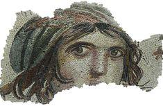 Mosaic, Face, Eyes, Portrait, Gypsy Girl, Archaeology  http://pixabay.com/en/mosaic-face-eyes-portrait-60610/