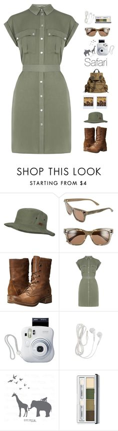 """~Safari~"" by amethyst0818 ❤ liked on Polyvore featuring Billabong, Valentino, Timberland, Oasis, Burberry, Polaroid and Clinique"