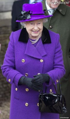 ...the queen royal purple.