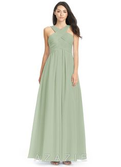 352ec25917 Shop Azazie Bridesmaid Dress - Kaleigh in Chiffon. Find the perfect made-to-