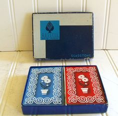 Playing Cards Set of 2 Decks  Vintage Russell New by DivineOrders, $12.00