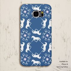 Ponies and Bits Pattern Phone Case - The Painting Pony - perfect gift for horse lover