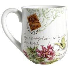 Demdaco Marjolein Bastin Hummingbird Mug : for her Marjolein Bastin, Ceramic Cups, Mug Cup, Kettle, Tea Pots, Coffee Mugs, Pottery, Kitchen Products, Kitchen Stuff