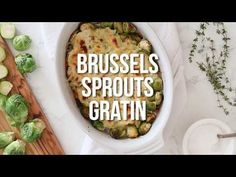 Brussels Sprouts Gratin Recipe | Skinnytaste
