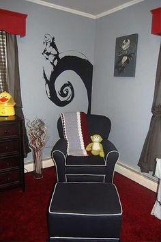 Nightmare before Christmas Decor nursery idea i love!!!