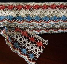 Russian bobbin lace, 1920s