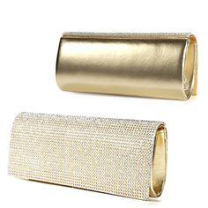 Diamante-Crystal-Cover-Flap-Clutch-Leather-Evening-Bag-Wedding-Prom-Handbag