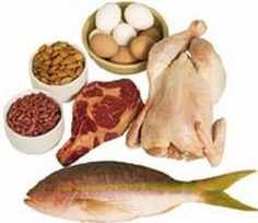 Examples of proteins: Meat and some dairy has lots of proteins in ...