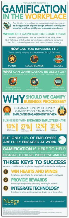 Infographic: Gamification increases employee engagement by 48 percent | Articles | Main