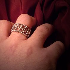 Greek pattern ring for her or him | JewelryLessons.com