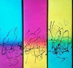 Acryl auf Leinwand, 3 x  20 x 60 cm, 23.01.2016