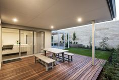 #alfresco #outdoor #backyard #decking #outdoordining