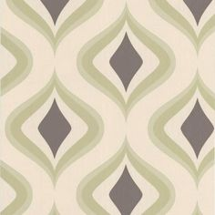 Graham and Brown 56 sq. ft. Trippy Green Wallpaper-30-448 at The Home Depot