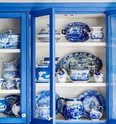 Gli oggetti #blue&white #porcellana #design #kitchen