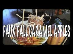 I Have Had So Many Positive comments regarding my Faux Food Series that I will continue making things for some of our Fall And Christmas Decor. I am alread. Valentine Decorations, Halloween Decorations, Christmas Decorations, Church Decorations, Candy Decorations, Dollar Tree Decor, Dollar Tree Crafts, Pumpkin Topiary, Rustic Fall Decor