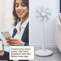 Finché è possibile accedere a Internet, è possibile controllare a distanza i tuoi elettrodomestici attraverso Woox Smart Power Strip, sempre e ovunque.  Utilizza il tuo telefono smartphone per accendere a distanza un bollitore elettrico, accendere le luci nel soggiorno, installare il purificatore d'aria o addirittura accendere il riscaldamento! Tutto può essere fatto con pochi tocchi grazie all'intuitiva app Home Woox.  La Woox Smart Power Strip funziona con Amazon Alexa e Assistente Google.