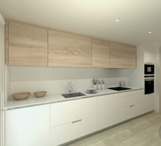 Excellent living kitchen room are available on our website. Modern Grey Kitchen, Grey Kitchen Designs, Minimal Kitchen, Kitchen Room Design, Modern Kitchen Design, Interior Design Kitchen, Kitchen Decor, Kitchen Colors, Kitchen Island For Dining