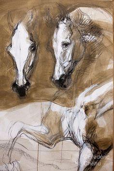 Chevalmag - Jean-Louis Sauvat : Variations équines