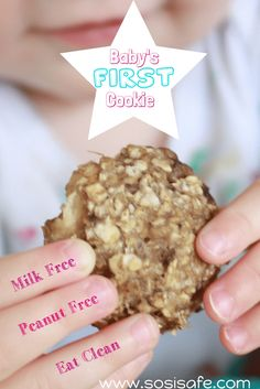 Baby's First Cookie   homemade baby cookies   nutritional food for baby   toddler snack ideas