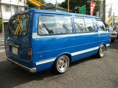 1979 Toyota Hiace on Enkei dish