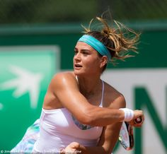 Basak shines in Tonic Active at French Open French Open, Summer Is Here, Tennis, In This Moment, Fashion, Moda, Fashion Styles, Fashion Illustrations, Fashion Models