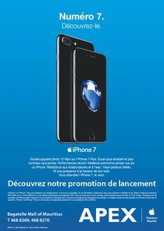 APEX Apple Premium Reseller - Découvrez iPhone 7 chez APEX. Tél: 468 8269 / 468 8270