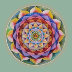 Healing Mandala by Eitan Kedmy
