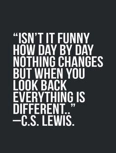 Let's repeat it 10x now.   Graduation quote...