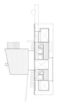 Loft plan of Kicking Horse by Bohlin Grauman Miller Architects