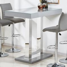 Caprice bar table & kitchen breakfast bar table