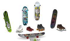 Skating Mania: skateboards, rollerskates, iceskates at Around the Sims 4 • Sims 4 Updates
