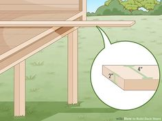 3 Ways to Build Deck Stairs - wikiHow Deck Stairs, Wooden Stairs, Wooden Decks, Building Code, Building A Deck, Building Plans, Treads And Risers, Stair Risers, Stairs Measurements